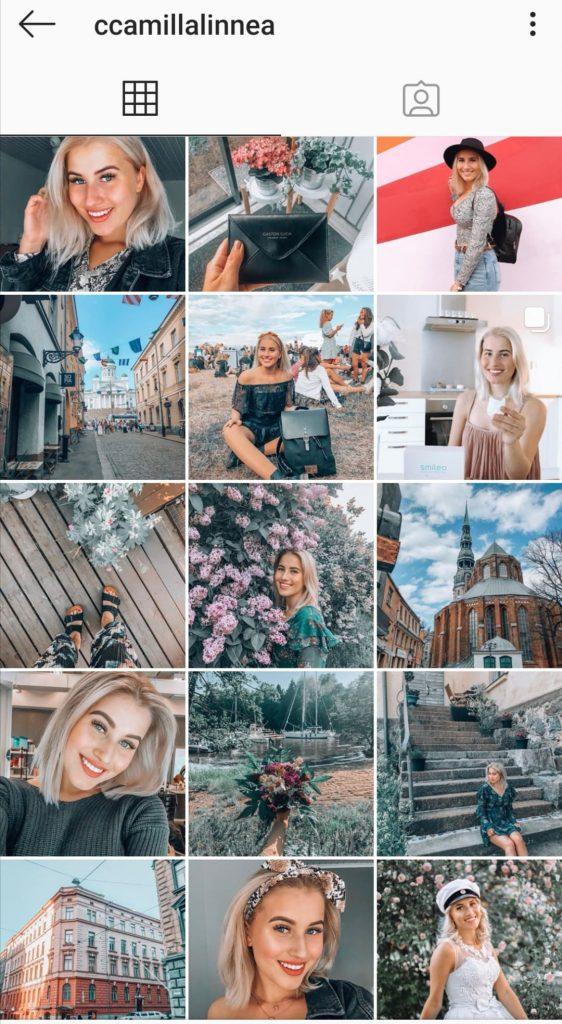 Muotibloggaajat: Camilla